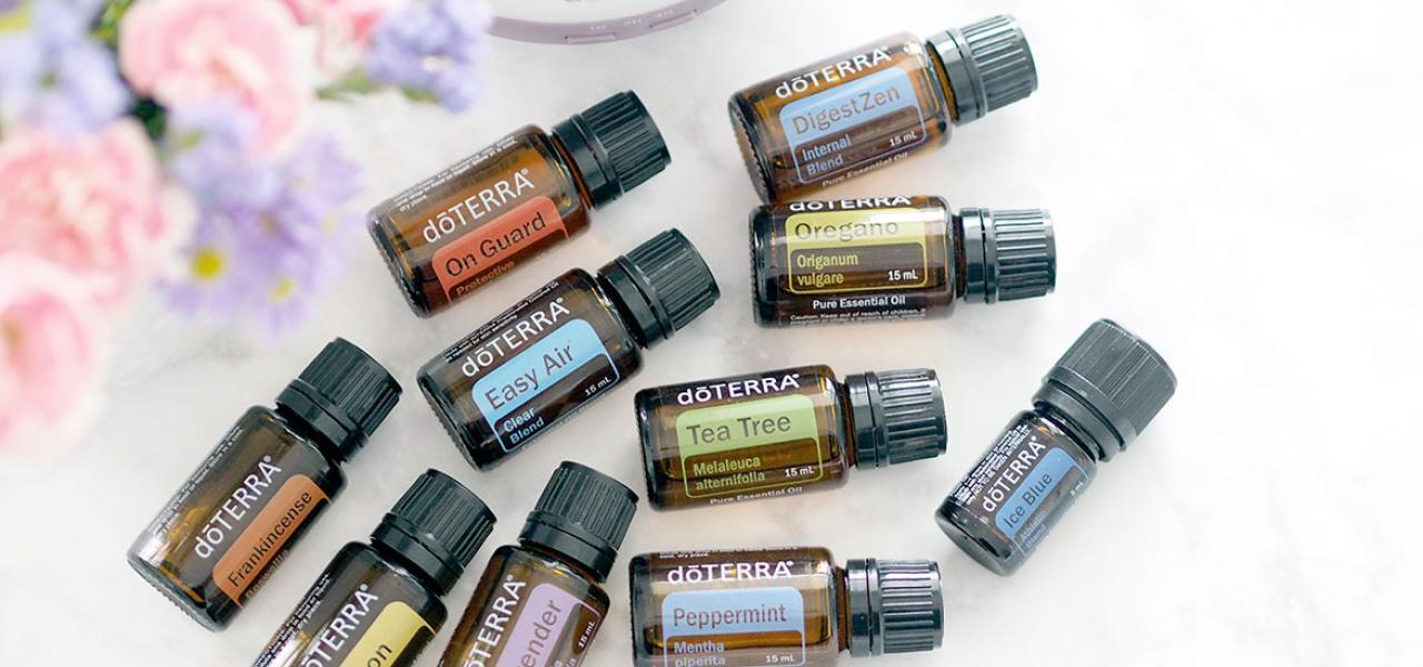 uleiuri esențiale de calitate Doterra