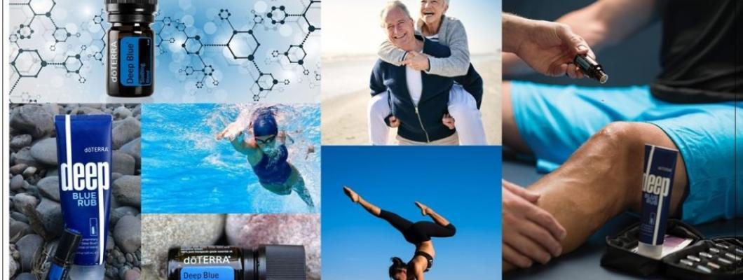 15 beneficii ale amestecului de uleiuri pentru durere (DEEPBLUE) de la Doterra