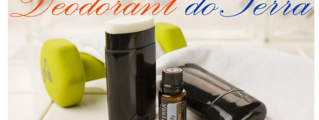 Deodorant natural facut in casa cu uleiuri esentiale Doterra