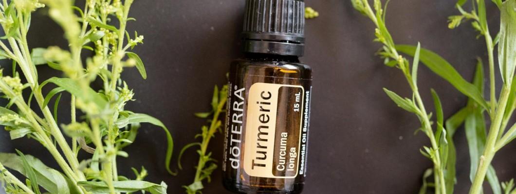 Utilizările și beneficiile  uleiului esențial de turmeric(doTerra)