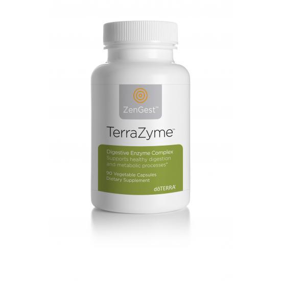 TerraZyme Complex  Digestive Enzyme Complex-90 de capsule moi